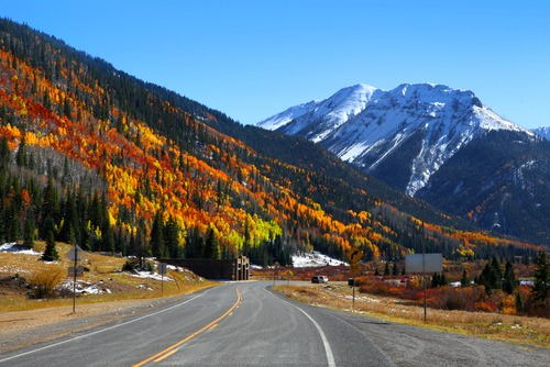 Denver movers recommend the Million Dollar Highway