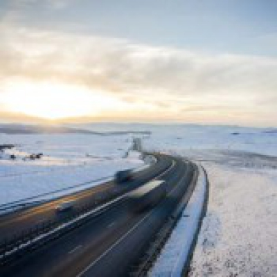 Winter Moving Driving Tips